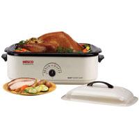 4818-14 18 Qt Ivory Roaster Oven