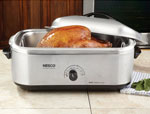 18 Qt Stainless Steel Roaster Oven